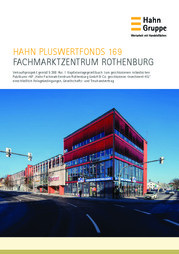 Hahn Pluswertfonds 169 - Fachmarktzentrum Rothenburg