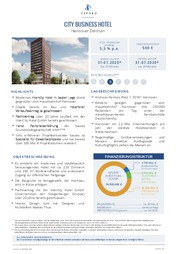 Exporo Crowdinvesting City Business Hotel Hannover