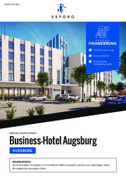 Exporo Business-Hotel Augsburg
